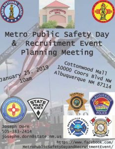 Metro Public Safety & Recruitment Event Planning Meeting