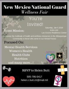 New Mexico National Guard Wellness Fair @ Las Cruces Readiness Center | Las Cruces | New Mexico | United States