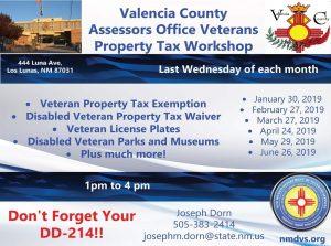Valencia County Veterans Outreach @ Valencia County Administrative Bldg | Los Lunas | New Mexico | United States