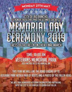 Rio Rancho Memorial Day 2019 @ Rio Rancho Memorial Park