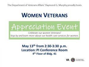 Women Veterans Appreciation Event @ New Mexico VA Hospital
