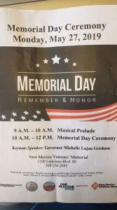 NM Veterans Memorial Memorial Day Ceremony @ New Mexico Veterans Memorial | Albuquerque | New Mexico | United States