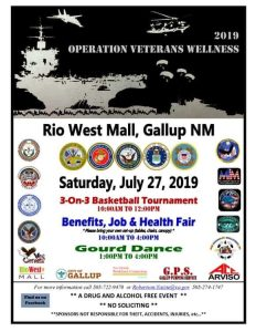 2019 Operation Veterans Wellness @ Rio West Mall