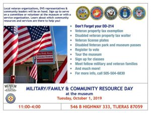 Military/Family and Community Resource Day @ Military Family Museum