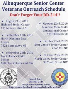Bear Canyon Senior Center Veterans Outreach @ Bear Canyon Senior Center