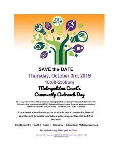 Metro Court Community Resource Day @ Bernalillo County Metro Court