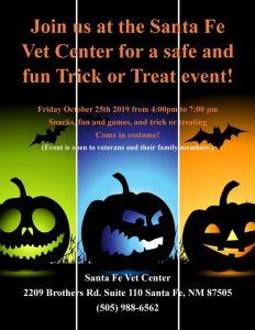 Santa Fe Vet Center Trick of Treat Event @ Santa Fe Vet Center